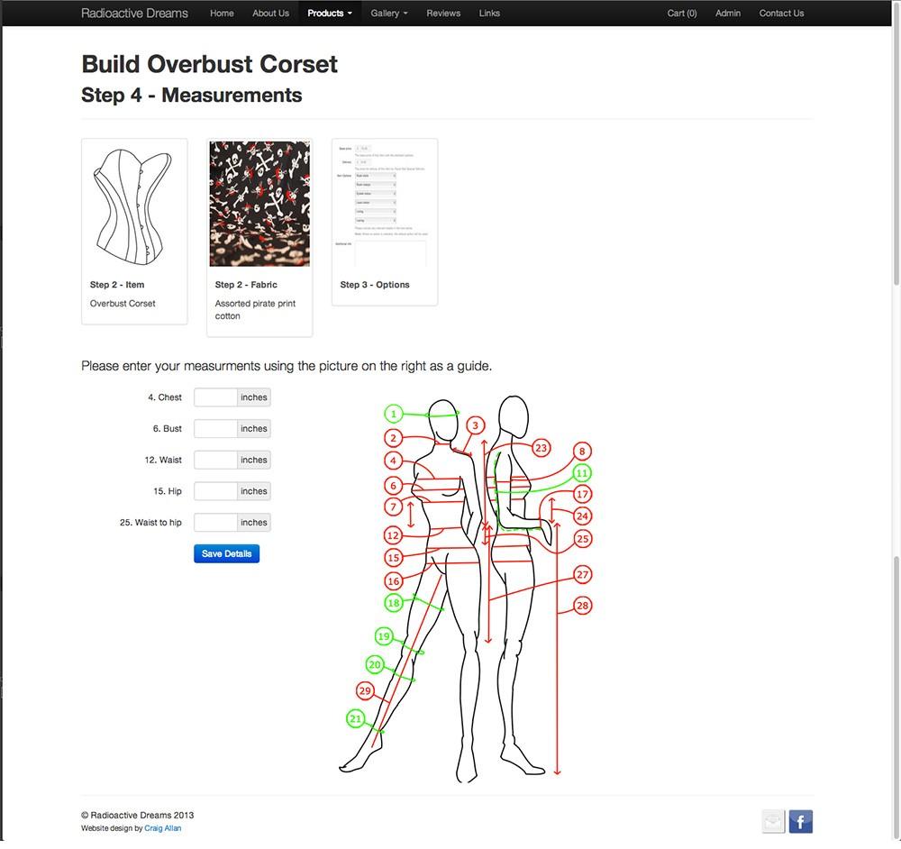 Item builder - Step 4